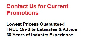 Lowest prices guaranteed; Free on-site estimates; 30 years of experience